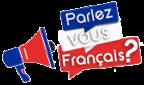 Cours de français gratuits en ligne avec Parlez-vous-francais.fr Logo