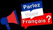 Cours de français langue étrangère (FLE) Gratuits pour Apprendre en ligne – Parlez-vous français ? Logo