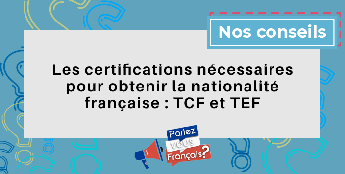 certifications tef tcf