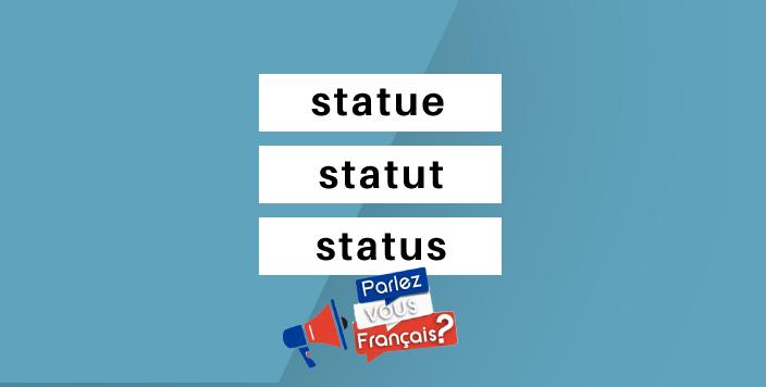 statue statut ou status