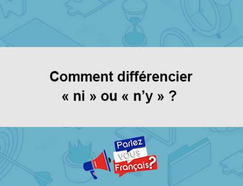Comment différencier « ni » ou « n'y » ?